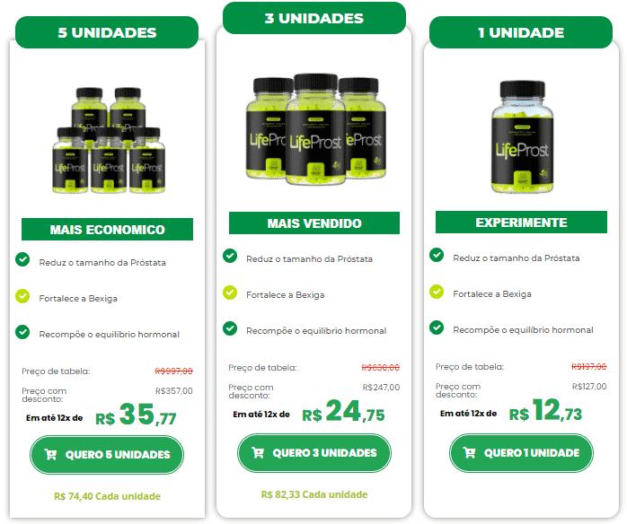 LifeProst Preço