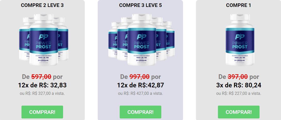 PowerProst Caps Preço